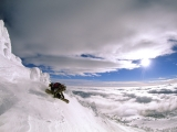 Powder Turns, Montana Backcountry