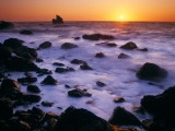 Shoreline at Sunset, Patricks Point State Park, California